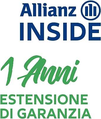 Allianz Inside, 1 Anno Garanzia estesa per Elettrodomestico per la Pulizia è compreso tra 00€ e 99€