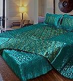 fashionadobe Satin Double Bed Bedding We...