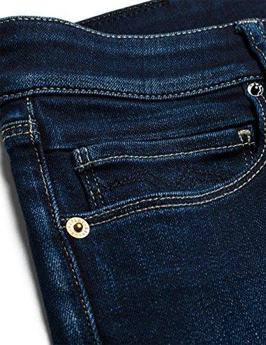 Replay Damen Slim Jeanshose Rose Blau (Blue Denim 7)