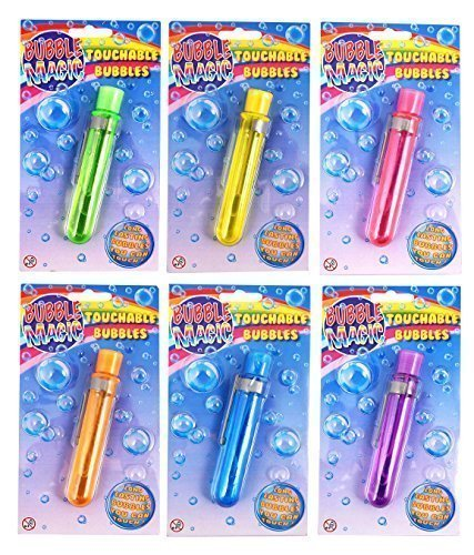 12 x Magische Anfaßbare Seifenblasen