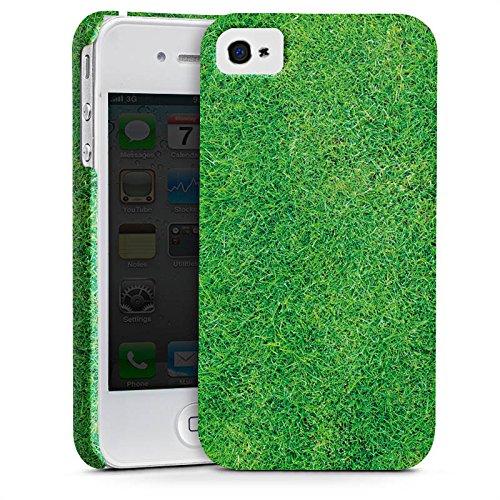 Apple iPhone X Silikon Hülle Case Schutzhülle Gras Rasen Grashalme Premium Case glänzend