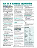 Mac OS X Mavericks Introduction Quick Reference Guide (Cheat Sheet of Instructions, Tips and Shortcuts - Laminated Guide)