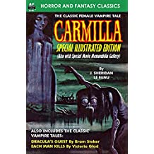CARMILLA, Special Illustrated Edition (English Edition)
