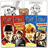 Harry Potter Coloring Book Super Set -- 2 Coloring Books and Reward Stickers