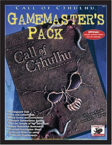 Call Screen (D20 Cthulhu Gm Screen (Call of Cthulhu) by Aaron Rosenberg (2002-08-14))