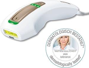 Beurer IPL Pure Skin Pro Kompaktgerät zur dauerhaften Haarentfernung, 200.000 Lichtimpulse