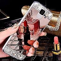 Galaxy S9 Hülle,Galaxy S9 Silikon Hülle Spiegel,SainCat Überzug Mirror Effect Soft TPU Case Luxus Glänzend Glitzer... preisvergleich bei billige-tabletten.eu