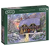 Jumbo Spiele 11187 Falcon The Writer's Cottage-1000 Teile