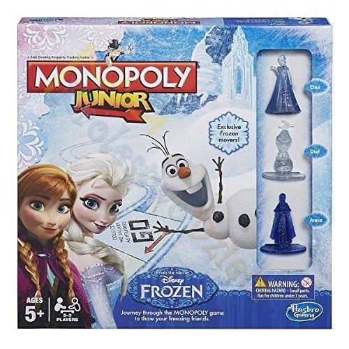 Gra Hasbro Monopoly Junior Frozen B2247 Pud6