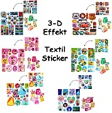 Unbekannt 1 Bogen _ 3-D Effekt _ Aufkleber / Sticker -  Cars - Mickey Mouse - Avengers  - für Textilien / Stoff / Metall - selbstklebend - Textilsticker / extrem Haft..