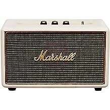 Marshall Acton - Altavoz portátil de 41 W (Bluetooth) color crema