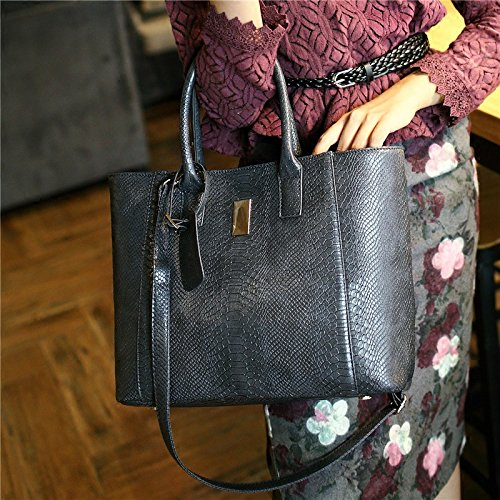X&L Women's Mode Krokodil Diagonale Tasche Handtasche Umhängetasche main figure color% new products