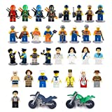 Best 2 Person Games - Minifigures Set of 32+2 Includes Building Bricks Community Review