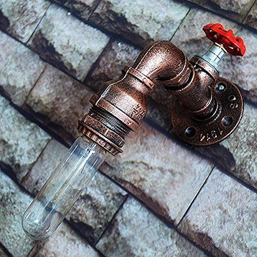 VanMe American Vintage Paese Tubazione Acqua Appliques In Bronzo Di