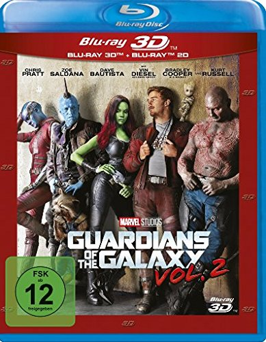 Guardians of the Galaxy Vol. 2 (2D & 3D)[3D-Blu-ray]
