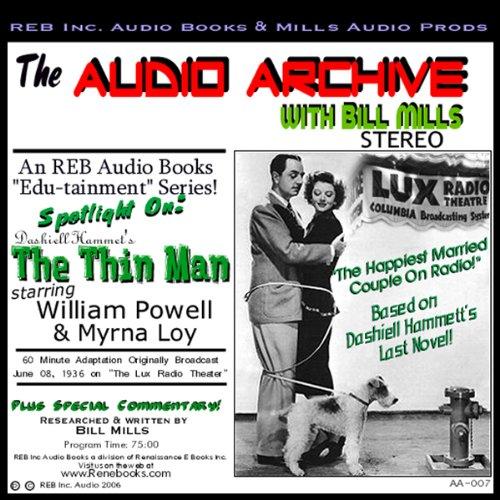 Audio Archive Presents Dashiell Hammett's 'The Thin Man'  Audiolibri