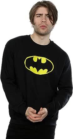 DC Comics Men's Batman Logo Sweatshirt