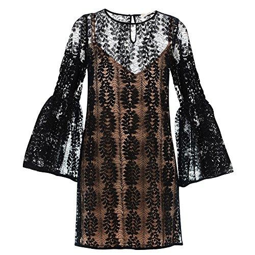 MICHAEL MICHAEL KORS MF78X8279K Kurzes Kleid Damen schwarz XS