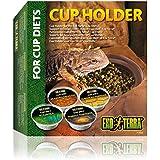 Exo Terra PT2835 distribuidor de alimentos para reptiles taza de comida de dieta