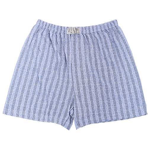 6er Pack Boxershorts Herren mit Eingriff 100% Baumwolle Farben können variieren - 5