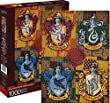 Harry Potter Crests 1000 piece jigsaw puzzle 690mm x 510mm (nm 65303) from nm