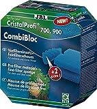 JBL CombiBloc 60159 Set mit Vorfiltereinsätzen und Filterschaum für Filter CristalProfi e 400/700/900
