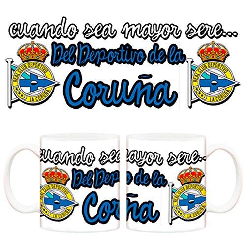 Taza cuando sea mayor seré del Deportivo de la Coruña Fútbol