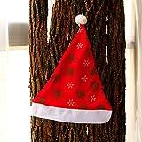 Reyqing Weihnachtsschmuck Weihnachtsmütze Geschenk Der Erwachsenen Kinder, Grün Schneeflocke Hat