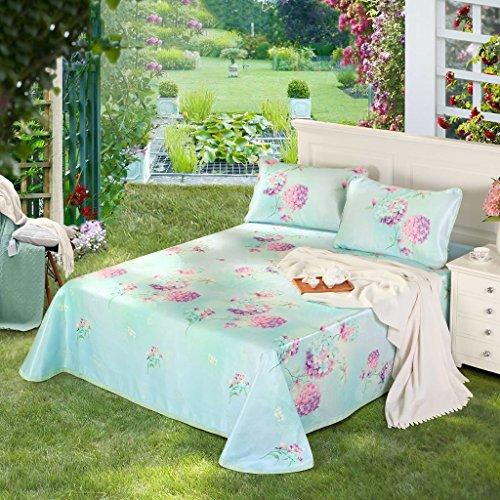 LTM mat Bamboo Haupttextil-EIS-Silk Matte 1.8 Meter Bett-Blatt-DREI Sätze 1.5m weiche Matte vorzügliche Blumen-Sprache 250 * 250cm - Blume-bett-satz