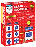 Play Panda Brain Booster Type 1 - 56 puzzles designed to boost intelligence - with Magnetic shapes, Magnetic board...