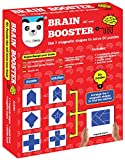 #8: Play Panda Brain Booster Set 1 56 puzzles designed to boost intelligence(magnetic shapes, magnetic board, puzzle book, solution book included)