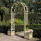 Rowlinson Arch With Planters ()