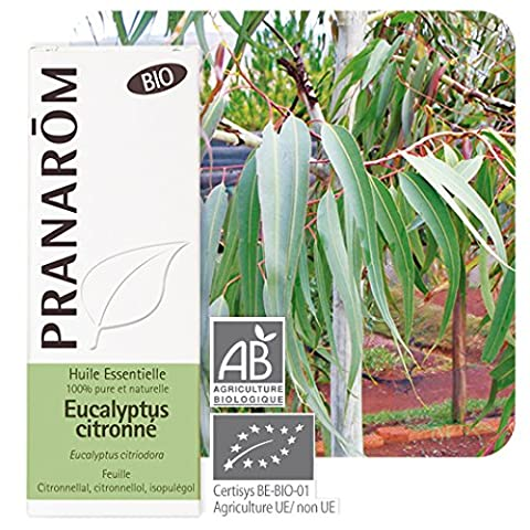 Pranarôm Bio Essential Oil Lemon Eucalyptus 10ml