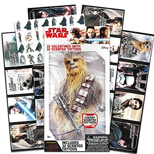 Star Wars Valentines with Tattoos ~ 1 Box by Disney