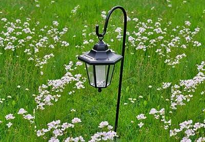 Solar Gartenlaterne, Solarleuchte mit 1 weißen LED von Nexos Trading bei Lampenhans.de