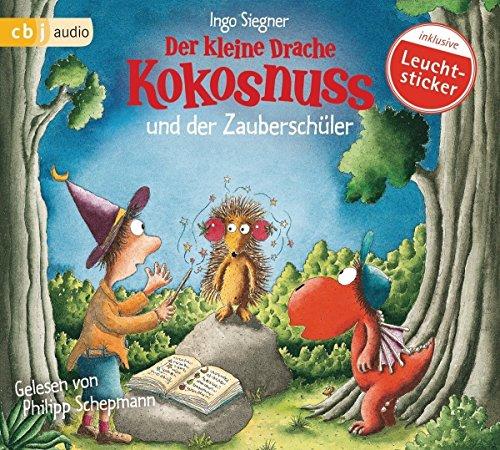 Buchseite und Rezensionen zu 'Der kleine Drache Kokosnuss und der Zauberschüler (Die Abenteuer des kleinen Drachen Kokosnuss, Band 26)' von Ingo Siegner