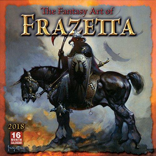 The Fantasy Art of Frazetta 2018 Calendar
