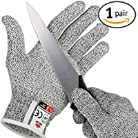 NoCry Cut Resistant Gloves with Grip Dots - High Performance