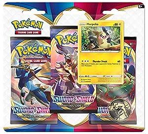 Pokemon TCG: Espada y Escudo 3 Pack Booster (uno al Azar) (172-80655)