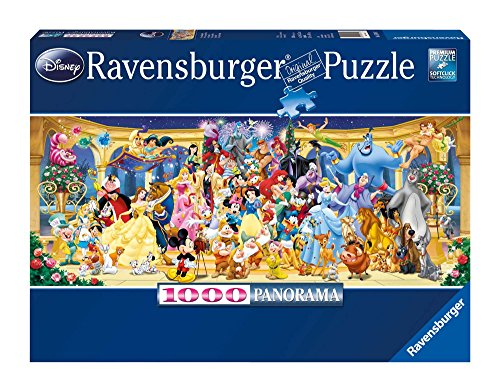 Ravensburger-15109 Disney Puzzle 1000 Pzas Panorama, Multicolor, 10m+ (15109 7)