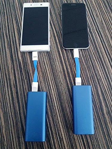 61J4mquDPaL - [Amazon.de] 2 in 1 Mini-Ladekabel als Schlüsselanhänger mit Lightning Anschluss nur 3,33€