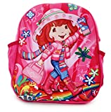 #4: Funny Teddy Cute lightweight Barbie doll School Bag For Kids with Exclusive 3D effect ;Use as Travelling Bags, Carry Bag, Picnic Bag, Teddy Bag for children boy girl unisex;Perfect Birthday Gift Idea (Pink Color)