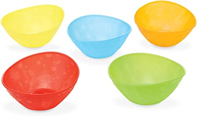 Munchkin Multi Bowls (Multicolor, Pack of 5)