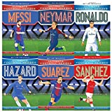 Ultimate Football Heroes Football Collection Series 1 and 2: 6 Books Bundles Giftset(...