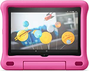 Custodia per bambini per tablet Fire HD 8 (compatibile con dispositivi di 10ª generazione, modello 2020), rosa