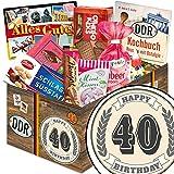 40 Geburtstag | Ostrodukte | DDR Suessigkeiten-Box