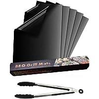 Nifogo Tapis de Barbecue, Cuisson Mats, Feuilles de BBQ Anti-adhérent, Réutilisable Nettoyable, pour Fours assistés…