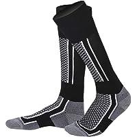 LORYLOLY calze da sci per adulti e bambini, Calzini invernali termici unisex per uomo donne ragazzo ragazza, Calzini di…
