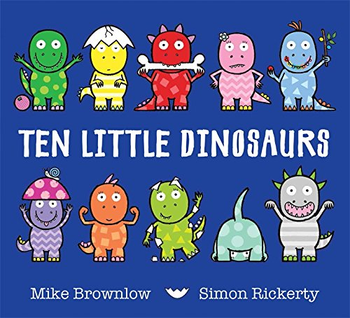 Ten Little Dinosaurs Cover Image