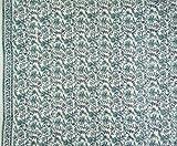"""45 """"Wide Bloc en voile de coton à la main Imprimer Indian Fabric Craft By The Metre"""